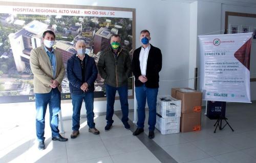 Fusavi recebe a doação de 3.5 mil máscaras de pano reutilizáveis
