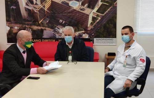 Hospital entrega ao MP cópia dos pedidos de compra dos aparelhos