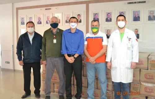 Hospital Regional recebe doação de cestas básicas