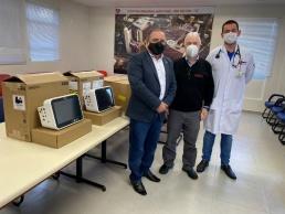 Hospital Regional recebe dois monitores para a UTI