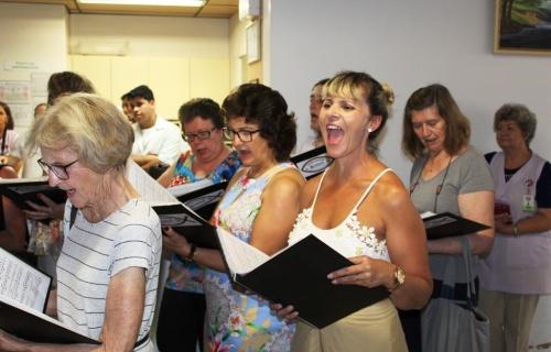 Coral Louv Art também participou da Semana de Natal no HRAV