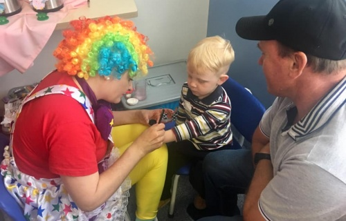 "HRAV organizou uma ""Festa na Pediatria"""