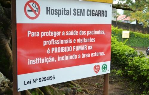 Campanha contra uso do tabaco em área hospitalar ganha força