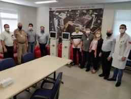 Hospital Regional recebe a doação de três respiradores