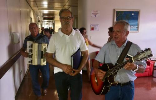 Grupo Tradizzioni se apresentou nesta quarta no HRAV