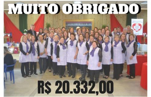 Café Beneficente arrecadou mais de R$20 mil