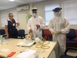 Hospital treina corpo clínico e equipes de enfermagem para atuar na prevenção
