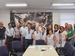 Fusavi recebe doação dos Voluntários do Hospital Regional